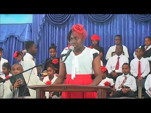 Bethel Sunday Morning Service Children ONE Day Convention Minister Paul Thompson