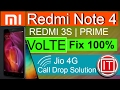 Redmi 4A|Redmi Note 4 VoLTE Problem,REDMI 3S VoLTE Problem Solve,REDMI 3S VoLTE Network Solved Hindi