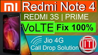 Redmi 4A|Redmi Note 4 VoLTE Problem,REDMI 3S VoLTE Problem Solve,REDMI 3S VoLTE Network Solved Hindi