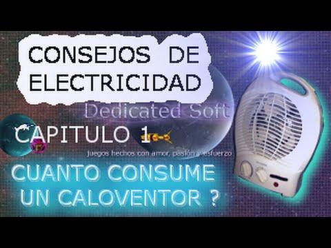 Consejos de electricidad cuanto consume un caloventor for Cuanto consume un deshumidificador