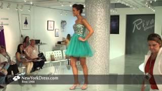 Riva L908 Dress - NewYorkDress.com