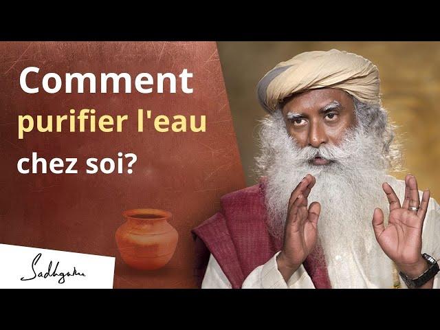 Le cuivre : la meilleure façon de purifier l'eau ? | Sadhguru Français