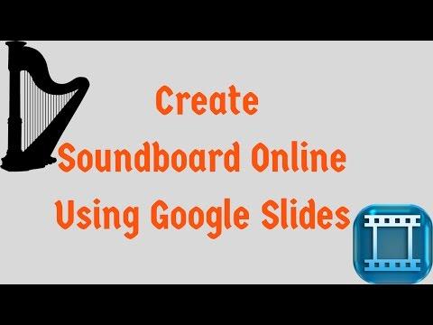 How to Create Soundboard Online using Google Slides - YouTube