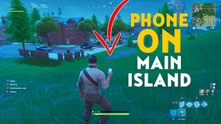 Creative Mode On The Main Island Glitch In Fortnite