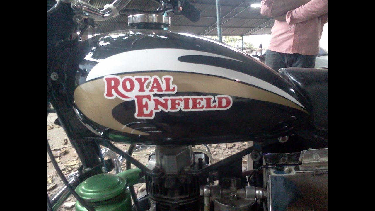 Bulletstickeringdesigns bulletmodified royalenfieldclassic350stickers