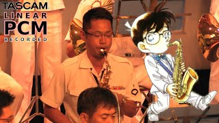Detective Conan Main Theme 🎷 Japanese Navy Band