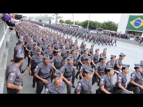Desfile de formatura da Escola Superior de Soldados PM do Estado de São Paulo 14/05/2015