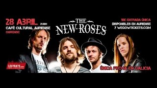 The New Roses - Ride With Me, Devil's Toys & Without a Trace, Alive Spain2017