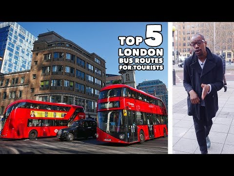Top 5 London Bus Routes For Tourists