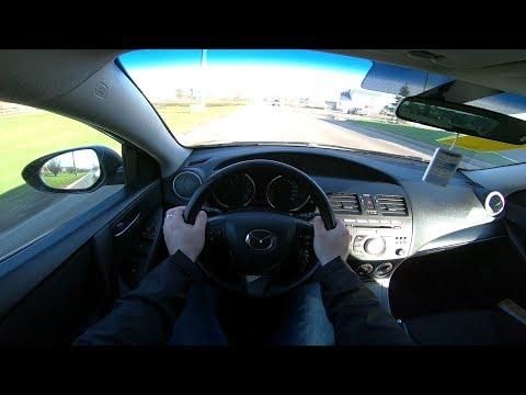 2011 Mazda 3 1.6 (105) POV TEST DRIVE