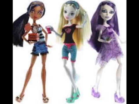 new and old monster high dolls  youtube