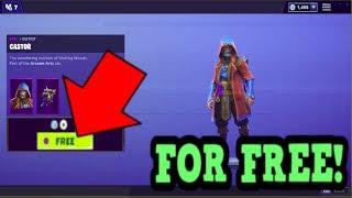 HOW TO GET CASTOR SKIN FOR FREE! (Fortnite Old Skins)