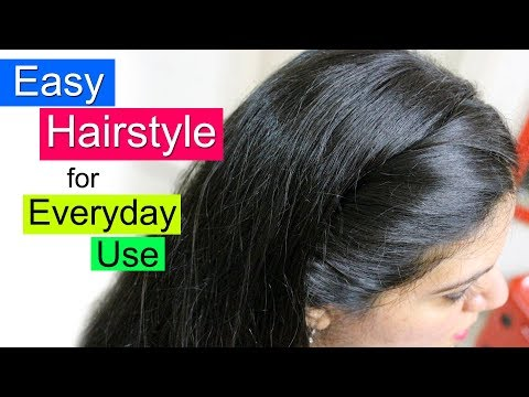 Easy Hairstyles for School, College or Office | Everyday Hair Style | Simple Hairstyle For Girls from YouTube · Duration:  2 minutes 58 seconds