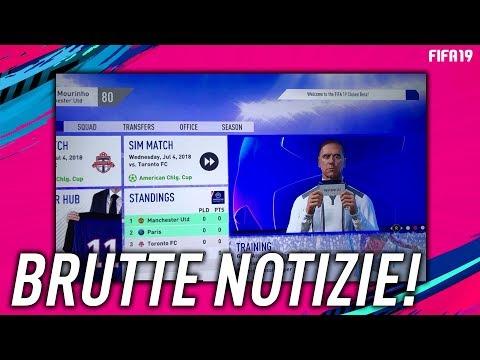 BELLE e BRUTTE NOTIZIE per CARRIERA e PRO CLUB FIFA 19!