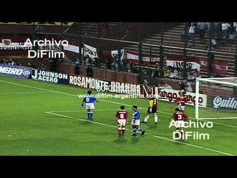 DiFilm - Velez Sarsfield vs Argentinos Juniors - Torneo Apertura 1995
