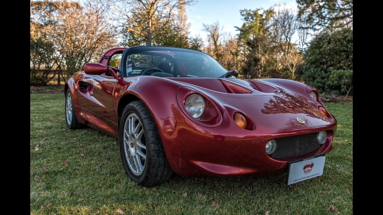 1999 Lotus Elise S1 - Waimak Classic Cars - New Zealand - YouTube