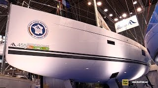 2016 Hanse 455 Sailing Yacht - Deck and Interior Walkaround - 2015 Salon Nautique de Paris