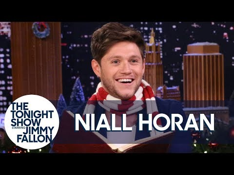 Chris Davis - Niall Horan reads 'Twas the Night Before Christmas in 7 Different Accents!
