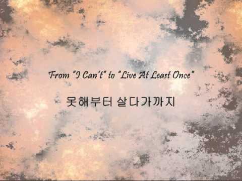 Shin Yong Jae - 가수가 된 이유 (The Reason I Became A Singer) [Han & Eng]