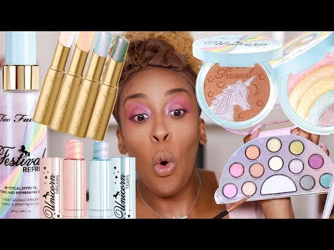 Hmmm.. Faced Life's a Festival Collection Review | Jackie Aina