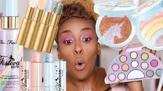 Hmmm...Too Faced Life's a Festival Collection Review | Jackie Aina thumbnail