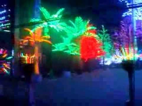 LED coconut tree light