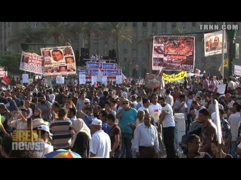 Egyptian Workers Denounce Military Regime