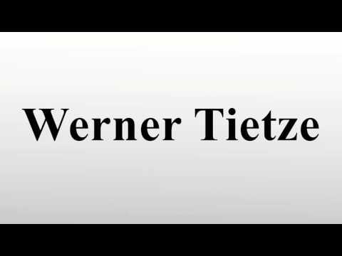 Werner Tietze