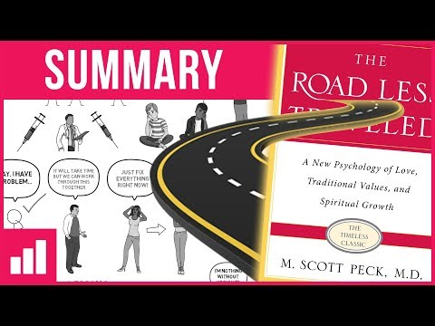 The Road Less Traveled by M. Scott Peck ► Animated Book Summary