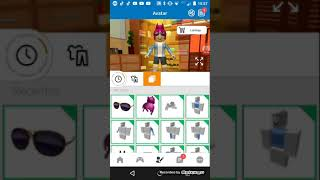 How to win free clothes on Roblox on mobile (Read des.)