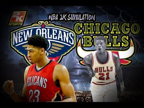 Chicago Bulls vs New Orleans Pelicans - Full game | April 2, 2017 | Season 2016-17 | NBA 2K17