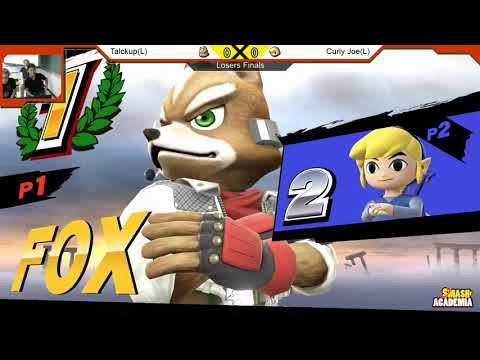 Smash4QC Arcadian #3 [Wii U] - Talckup(L) (Donkey) vs Curly Joe(L) (Toonlink) - Losers Finals