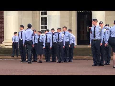 RAF Cranwell - ACLC Graduation- CPL Cavallo 2017
