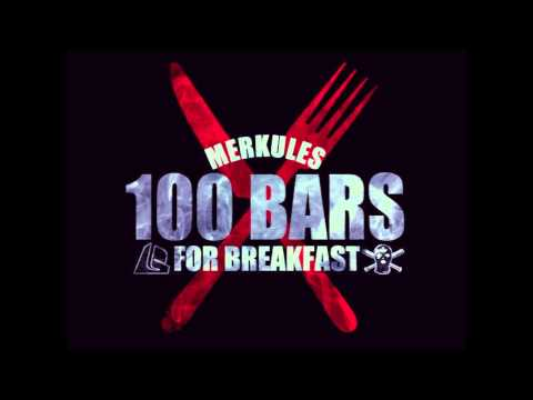 Merkules - 100 BARS FOR BREAKFAST (FREE DOWNLOAD) 2013