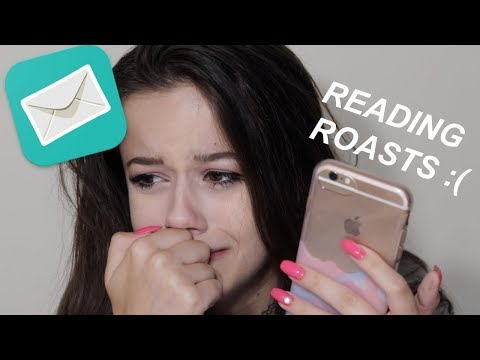 READING/REACTING TO ROASTS LEFT ON MY SARAHAH!!
