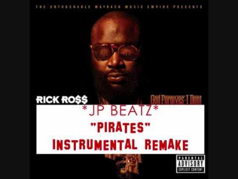 RICK ROSS PIRATES INSTRUMENTAL REMAKE! JP BEATZ! W/DL! BEST ON YOUTUBE!