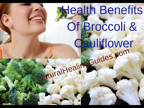 Health Benefits Of Eating Broccoli & Cauliflower Daily (Healthy Skin, Prevent Cancer & Infections)