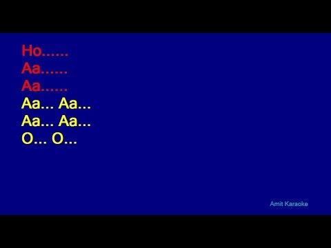 Bhor Bhaye Panghat Pe - Lata Mangeshkar Hindi Full Karaoke with Lyrics