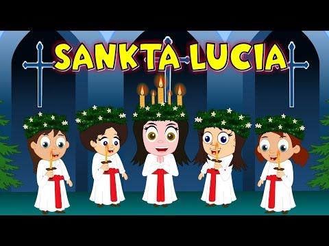 Barnsånger på svenska | Sankta Lucia med mera