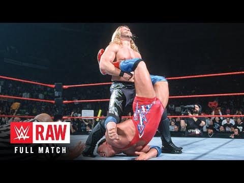 FULL-LENGTH MATCH - Raw - Kurt Angle vs. Chris Jericho - WWE Championship Match