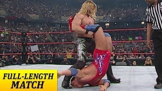 FULL-LENGTH MATCH - Raw - Kurt Angle vs. Chris Jericho - WWE Championship Match