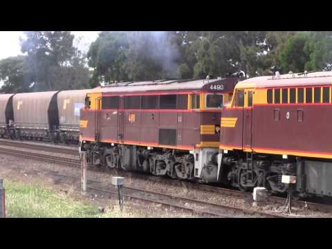NSW Diesel Locomotives Throughout 2014