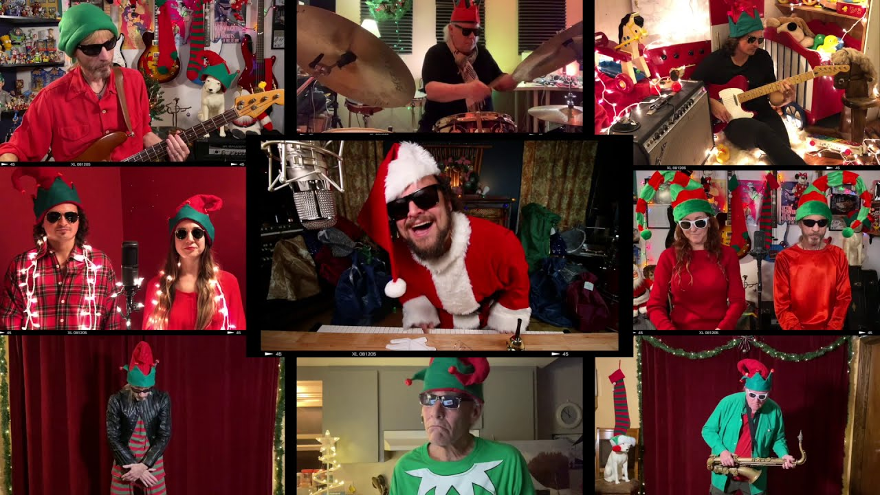 """The WildRoots """"Santa Claus is Back in Town"""" (feat. Victor Wainwright)"""