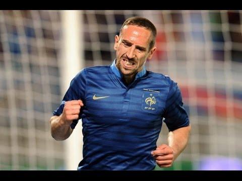 Hommage a Franck Ribery