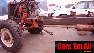 Автоликбез #4 - Конструкция рамного внедорожника (на примере шасси УАЗ-469)