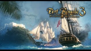 Trying out Port Royale 3..a trading strategy game.