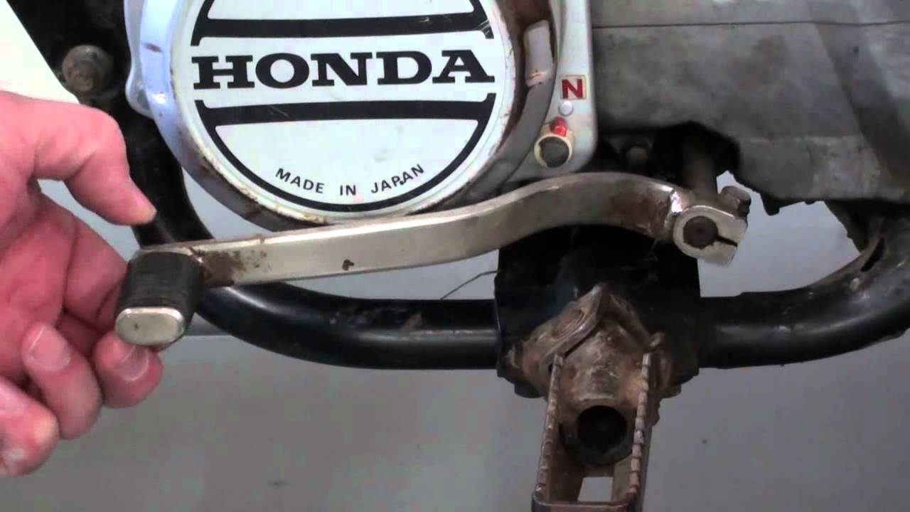 Pt4 Honda ATC200S How To Adjust The Clutch  YouTube