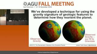 FM16 Press Conference: Tracking the reorientation of the terrestrial planets