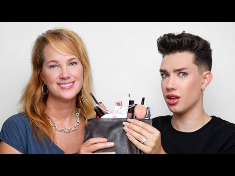 FULL FACE USING MY MOM'S MAKEUP
