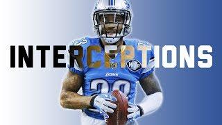 Detroit Lions - Every Interception of 2017